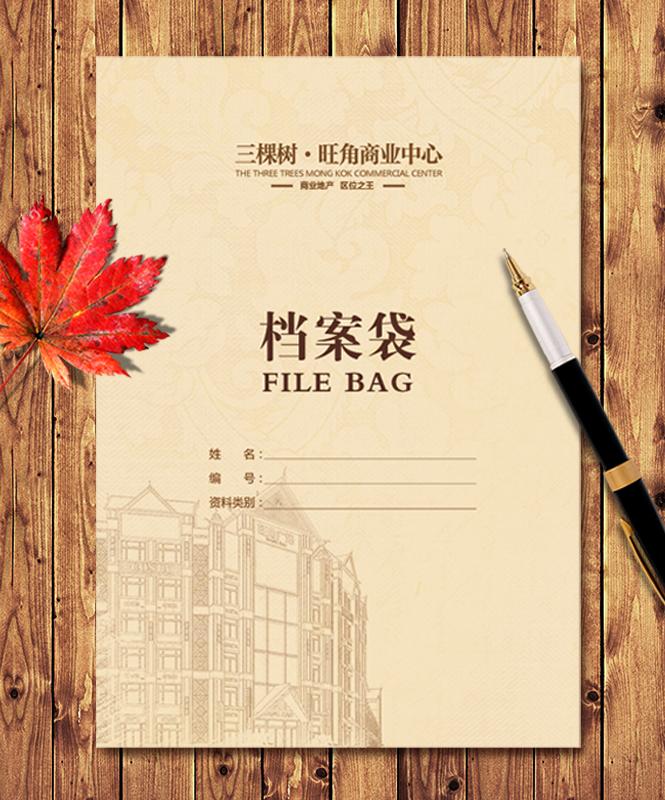 档案袋生产厂家,档案袋多少钱,公司档案袋_印无忧设计印刷厂