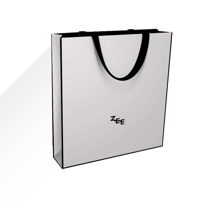 白卡纸手提袋定制,白卡纸手提袋印刷,白卡纸手提袋设计_印无忧设计印刷厂